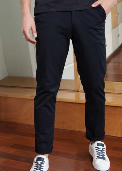 pantalon chino homme multipoches odxey