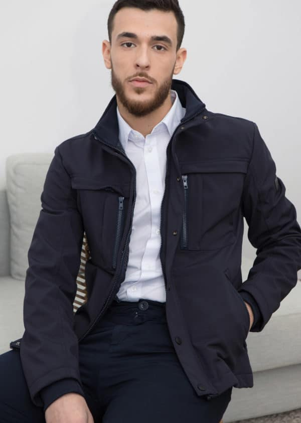 veste homme multipoches odxey