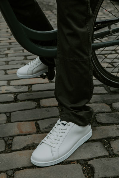 SNEAKERS NEW YORK BLANCHES